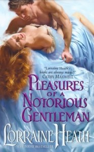 A read haired white woman in historical dress matching her sheets lies pinned under a shirtless man