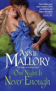 A white couple embrace on a green chaise, she is barely wearing a blue historical dress and he is having trouble keeping his shirt on.