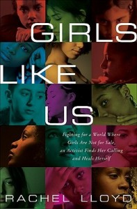 In a grid of jewel tones, the faces of teen girls of various ethnicities are arranged, one to a box, all candid shots