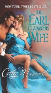 A white couple embrace, he behind with his shirt slid down to his wrists, she in front in teal historical dress, thigh exposed, one hand on her chest