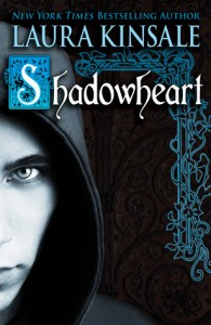 A darkly colored cover, on the left a half profile of a intently staring male face covered in a hood, on the left decorative scrollwork