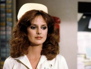 A picture of the general hospital character Bobbie Spencer in her nurse's uniform circa 1978