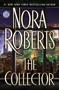 A clear window overlooks the New York City skyline on a cover dominated by the author's name and book title.