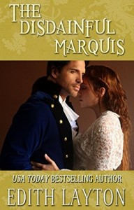A man and woman in historical dress embrace on the center third of the cover, his profile slightly turned to the viewer, her's partially obscured by his face