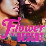 A black woman looks into the sunglasses eyes of a native american man with a beard, the cover font is hot pink and vintage 70's